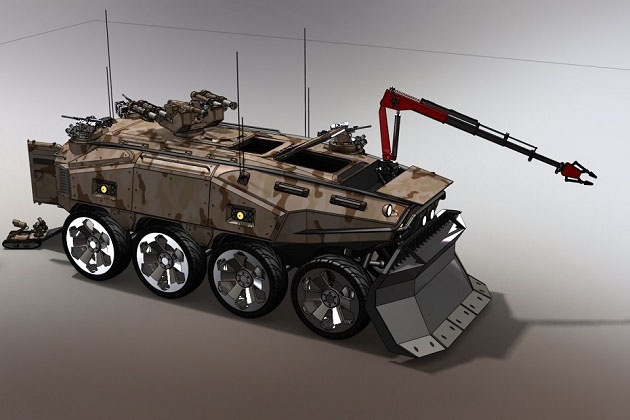 DSTL outlines future armoured concepts