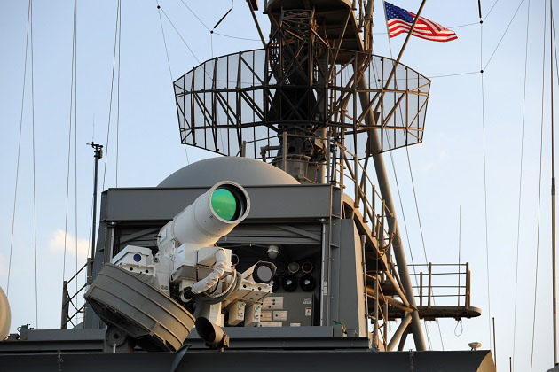 Surface Navy: US Navy looks to enhanced laser weapons