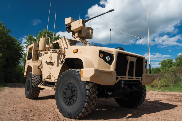 US Army exercises JLTV option