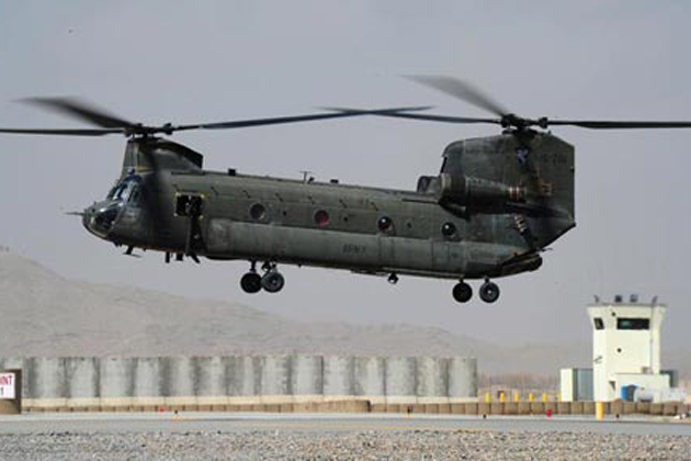 ADF takes delivery of two CH-47D helicopters