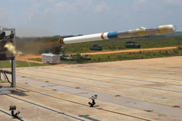 Lockheed Martin conducts ground-launched DAGR tests