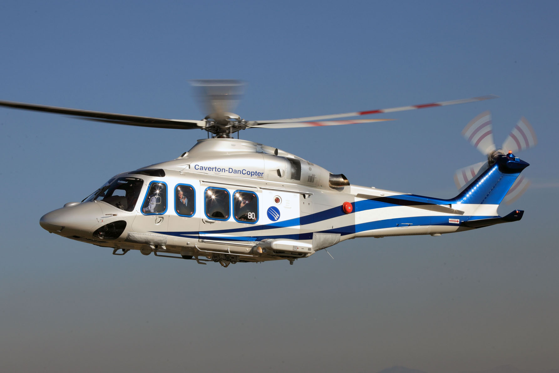 AW139 helicopter delivered to DanCopter