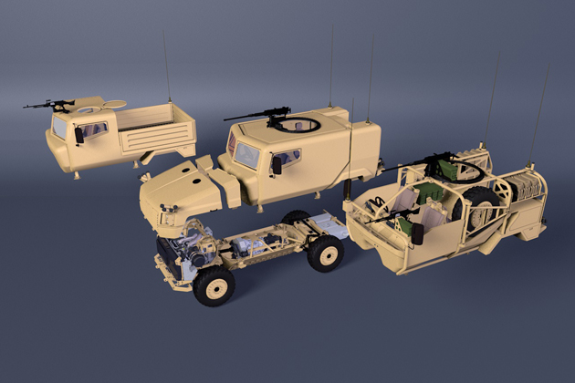 Supacat to bid for UK protected mobility