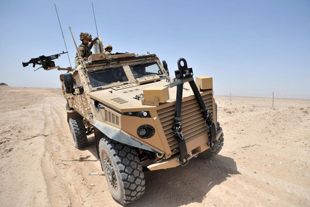 UK MOD Foxhound vehicle contract finalised