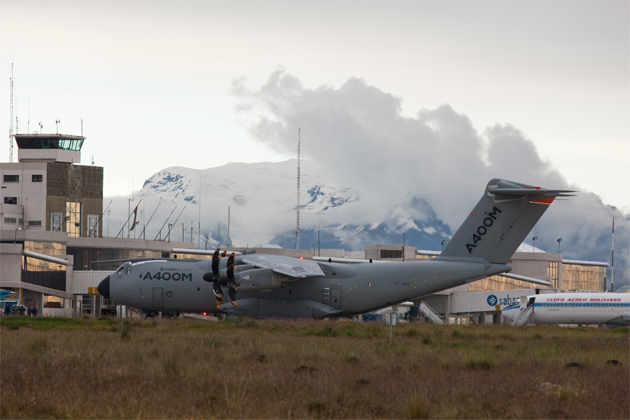 A400M undergoes high-altitude testing
