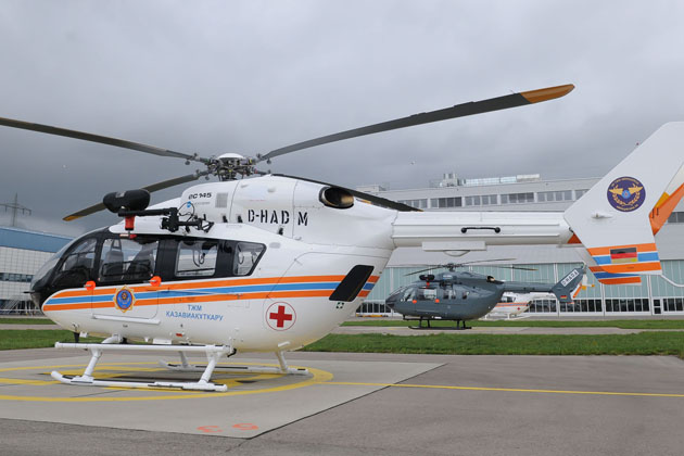 Eight more EC145s for Kazakhstan government