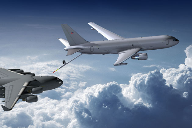 KC-46 refuelling boom enters production