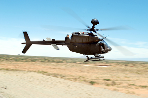DRS wins Kiowa Warrior helicopter award