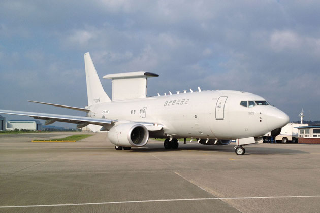 Final AEW&C Peace Eye aircraft delivered to ROKAF