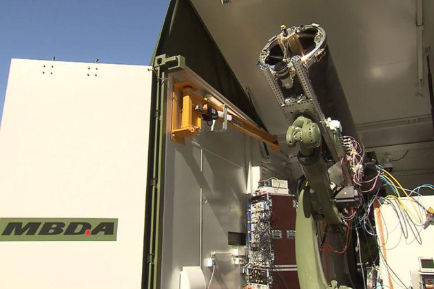 MBDA Germany demonstrates laser weapon system