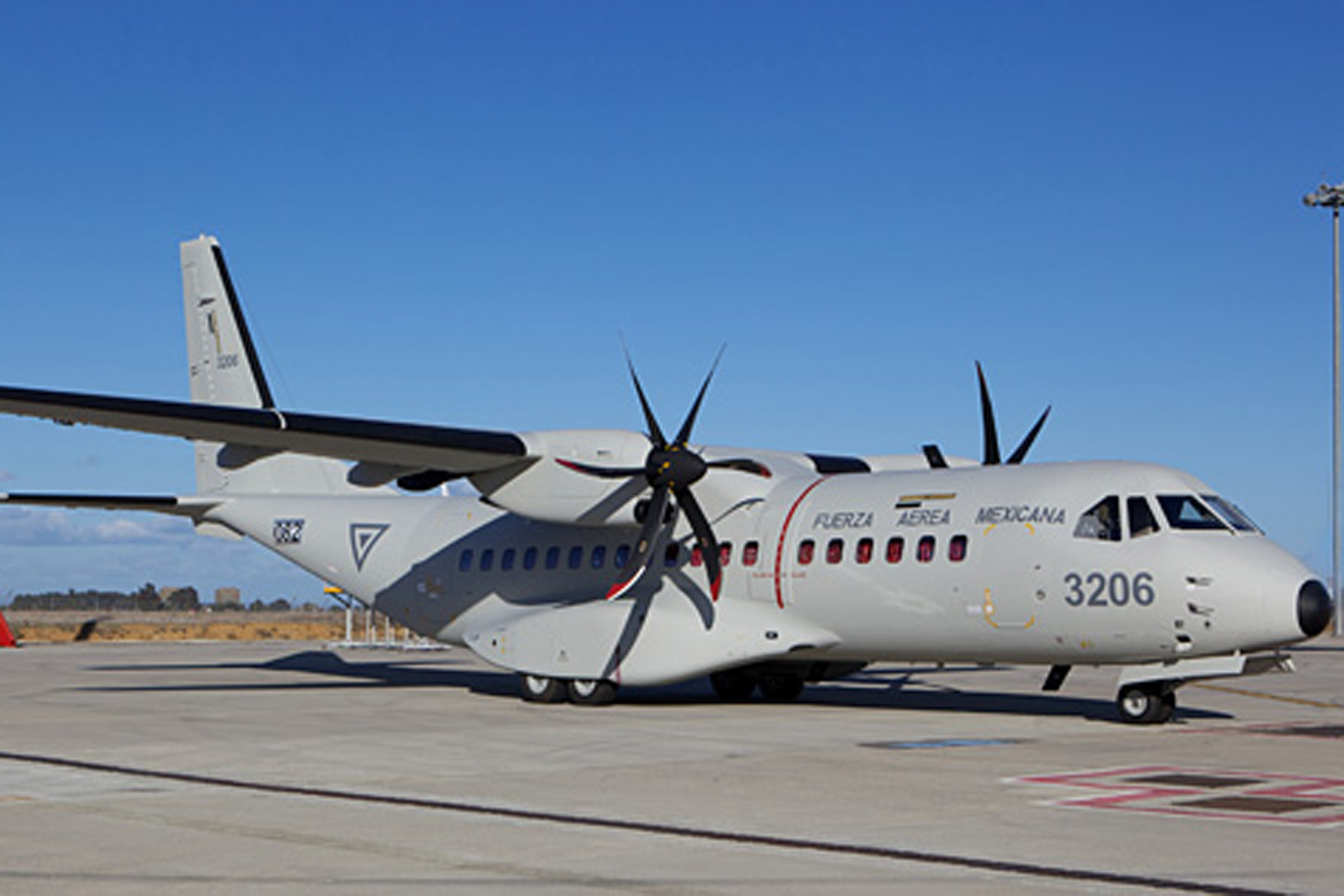 Airbus Military delivers C295 to Mexico