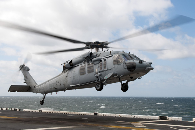 US Navy conducts cross-platform ASW demonstration