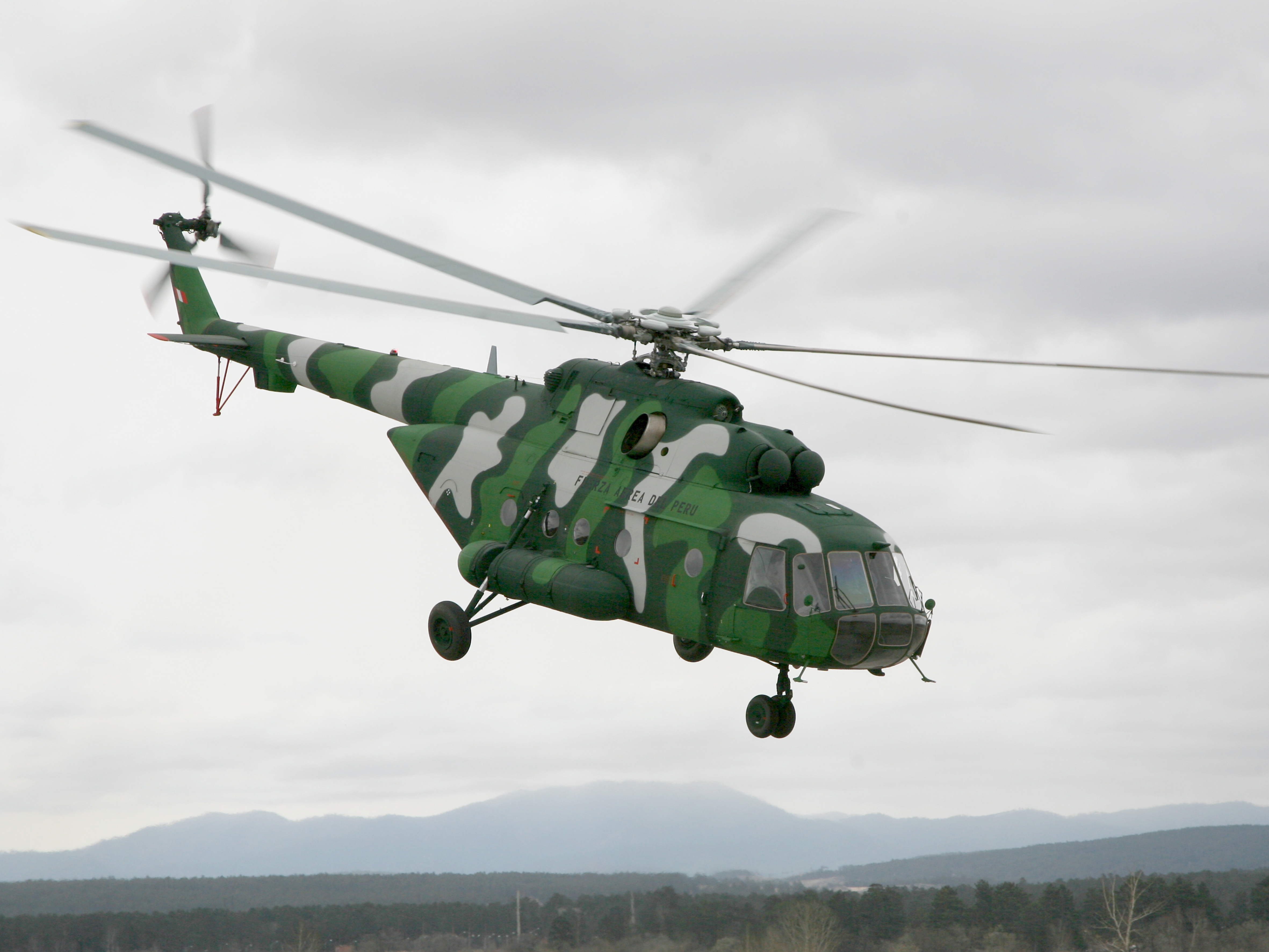 Russian Helicopters delivers Mi-171Sh to Peru