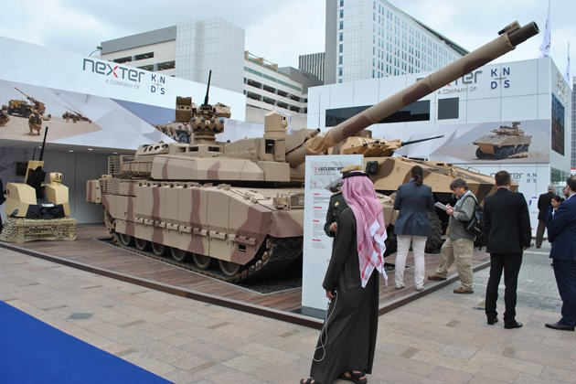 IDEX 2017: New lease of life for Leclerc