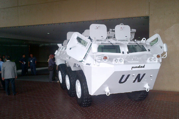 DSA12: PT Pindad displays new Malaysian APC