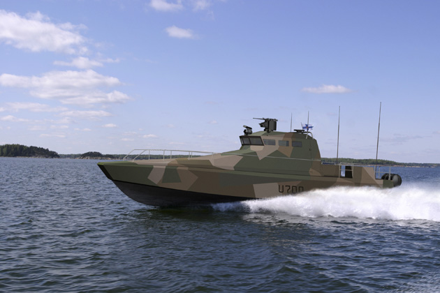 Saab Trackfire RWS selected for Finnish Navy