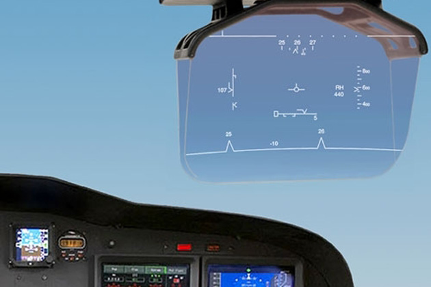 Saab receives first order for Head-Up display