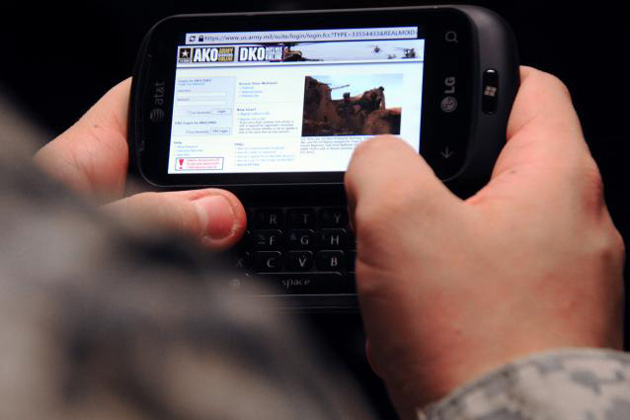 ViaSat selected for USMC mobile device contract