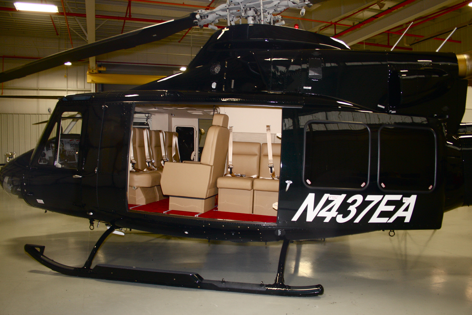 Bell Helicopter delivers 412s to Sri Lanka