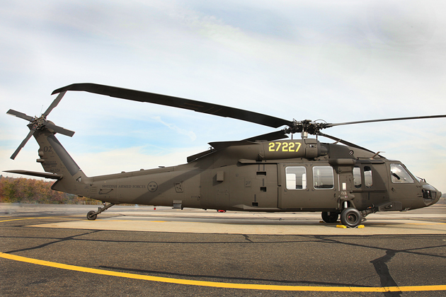 Saab signs Black Hawk support agreement