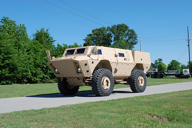 Textron, General Kinetics sign MOU for Canadian TAPV bid